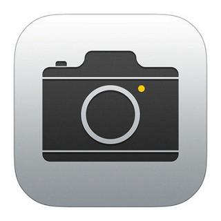 標準アプリのカメラ