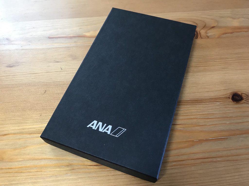 2019年ANAスーパーフライヤーズ会員限定の手帳 箱